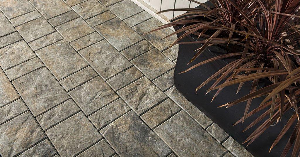 Unilock Treo pavers used in walkway