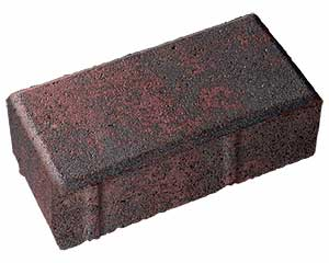 One 4 x 8 Holland 2-3/8 Thick Paver