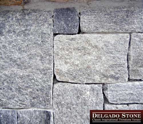 Roughly Square and Rectangle Stones in Wall