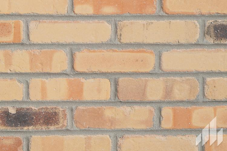 Manufactured veneers brick wall
